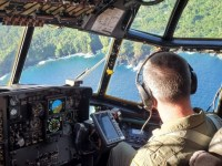 Coast Guard and Air Force Ensure Delivery of Medical Supplies to American Samoa