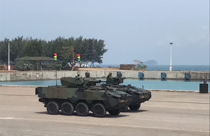 Excalibur Army will deliver 23 Pandur II Armored Vehicles to Indonesia