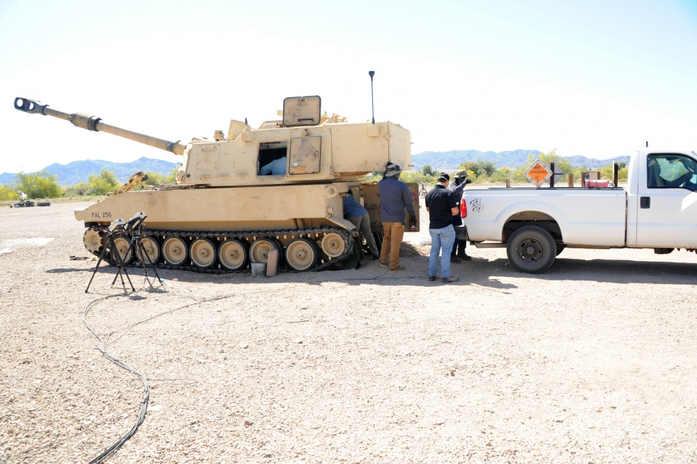 Extended Range Cannon Artillery (ERCA) Testing Continues at U.S. Army Yuma Proving Ground