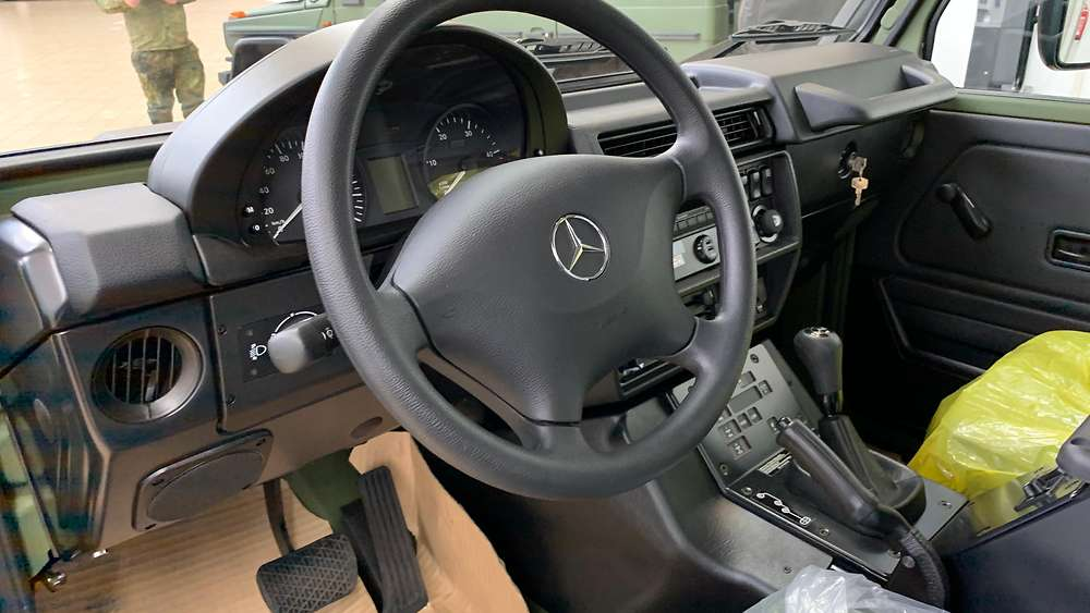 German Army to Buy 700 Mercedes-Benz G300 CDI Greenline