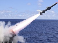 Harpoon Block II anti-ship missile