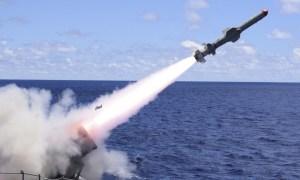 Harpoon Block II anti-ship missile