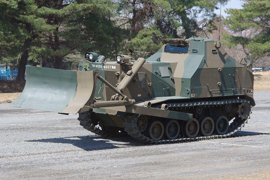 Hitachi Wins Japanese Ground Self Defence Force Armoured Bulldozer Contract