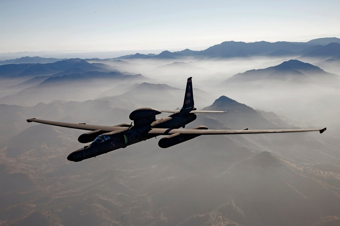 Lockheed U-2S Dragon Lady Reconnaissance Aircraft