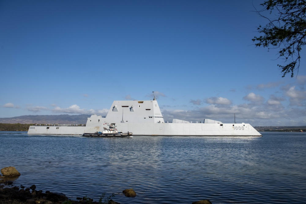 US Navy Accepts Delivery of USS Zumwalt (DDG 1000)