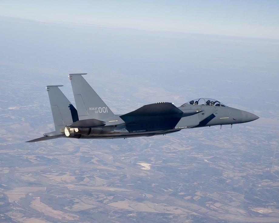Republic of Korea Air Force F-15K Slam Eagle Fighter Aircraft