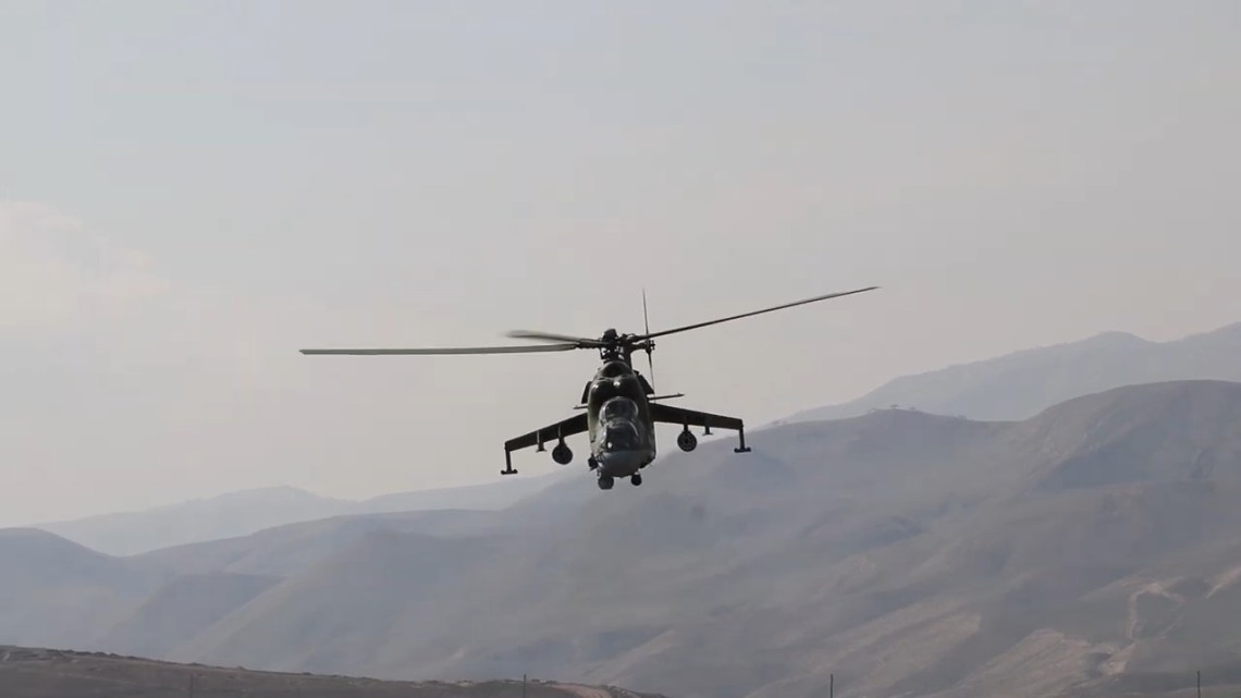 Russia's 201st Military Base and Tajikistan Conduct Joint Exercise in Lyaur Training Ground