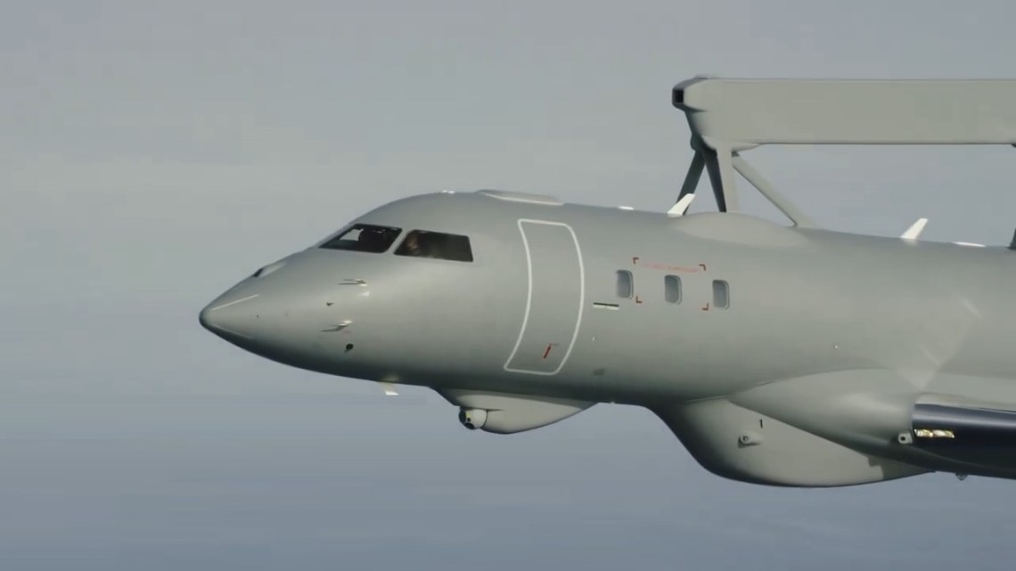 Saab Delivers First GlobalEye AEW Aircraft to United Arab Emirates