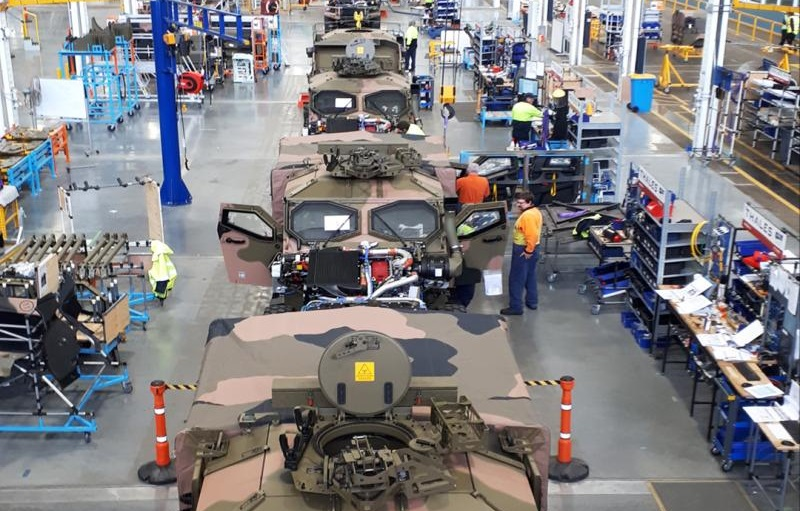Thales Australia Increase Production of Hawkei PMV Despite COVID-19 Crisis