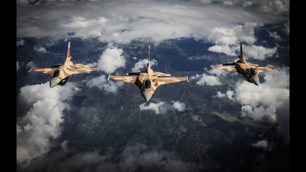 Royal Moroccan Air Force F-16 Block 50/52+ Jet Fighter