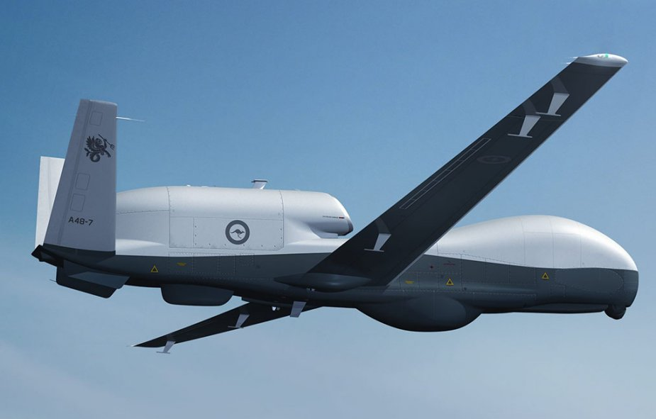 US Department of Defense to Contract Additional MQ-4C Triton UAVs for Royal Australian Air Force