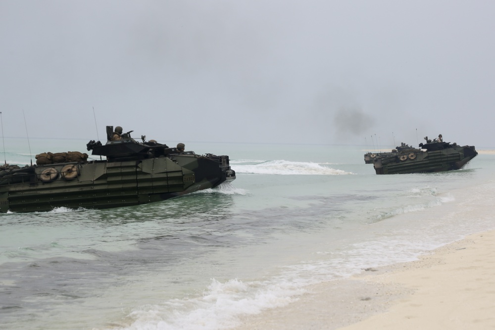 US Marine Corps 26th MEU Begins Sustainment Training on Saudi Arabian Islands