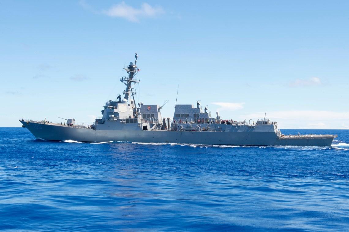 USS Kidd Evacuates Sailor, Embarks COVID-19 Medical Response Team