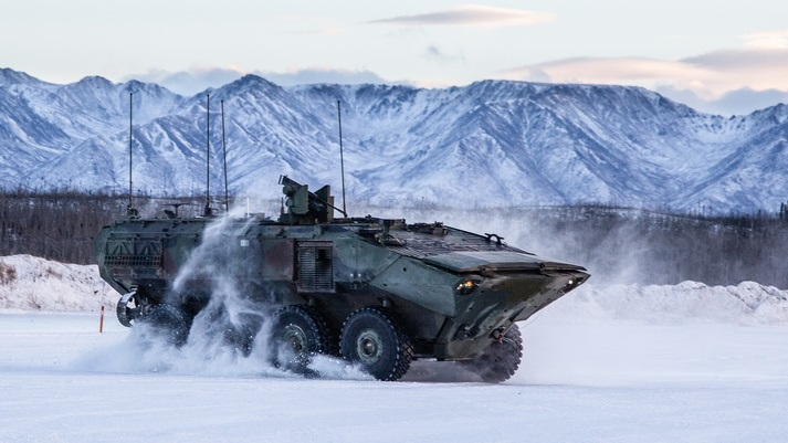 US Marine Corps Selects Kongsberg's MCT-30 for Amphibious Combat Vehicle 30 (ACV-30)