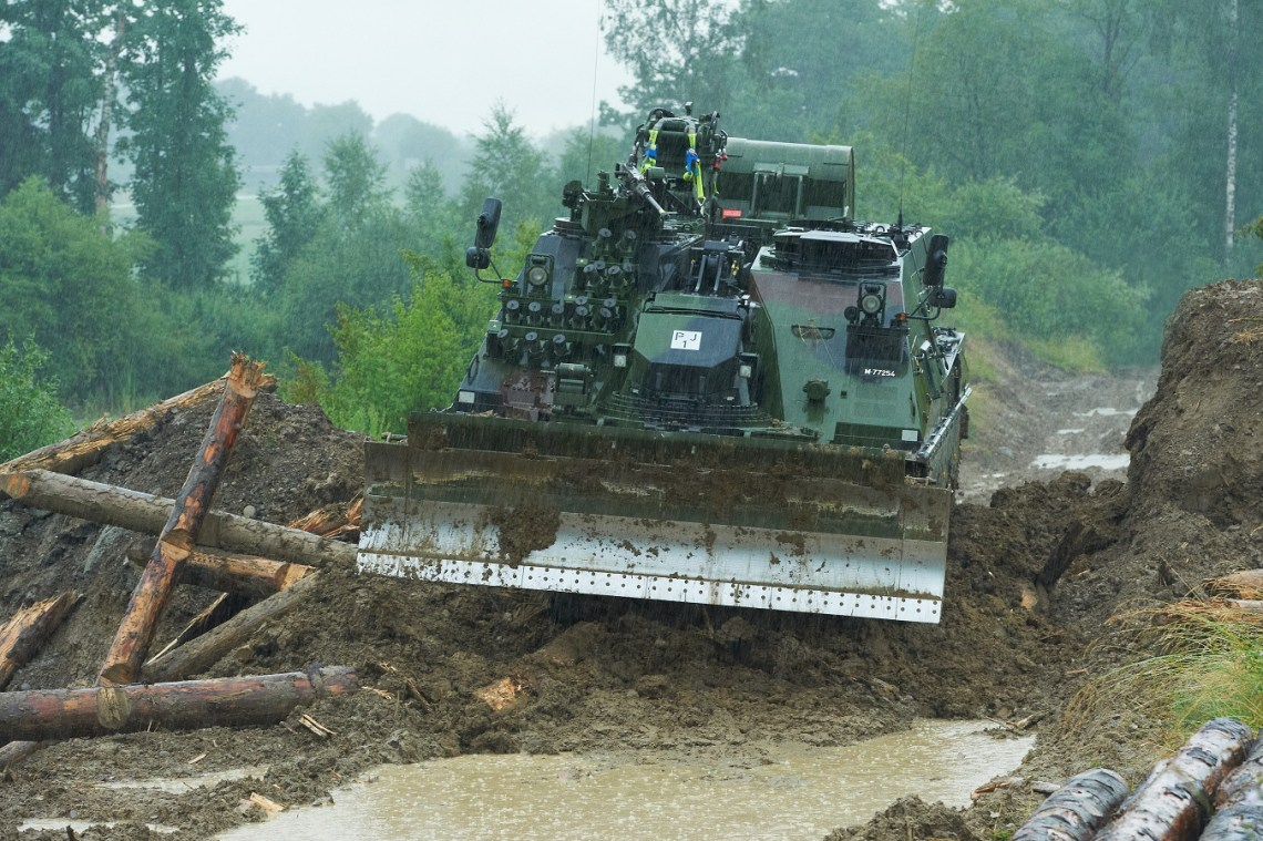 AEV 3 Kodiak Armoured Engineering Vehicle