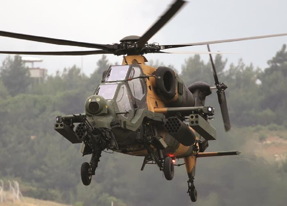 TAI/AgustaWestland T129 ATAK Attack Helicopter
