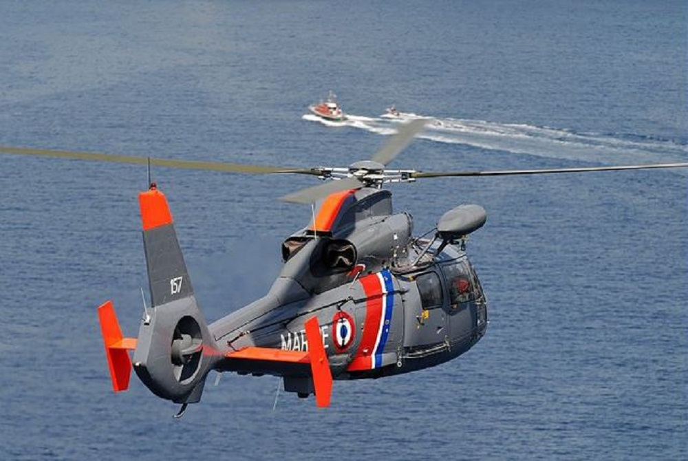 French Navy AS365F Dauphin Pedro Helicopters