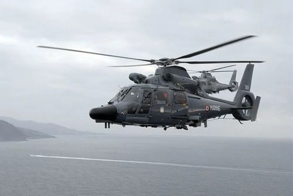 French Navy AS565 Panther Helicopters