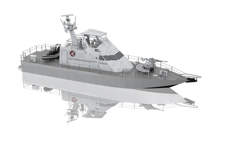 Israel Shipyard Shaldag MK II