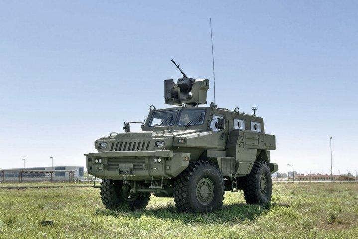KPE Arlan 4×4 Arlan Mine-Resistant Ambush Protected (MRAP)