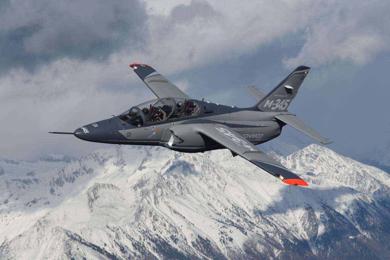Leonardo M-345 Jet Trainer