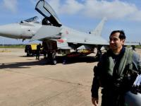 Leonardo Tests AESA Radar on Eurofighter Typhoon for Kuwait