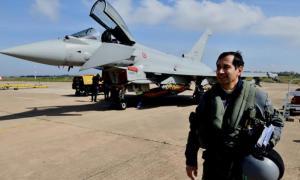 Leonardo Tests AESA Radar on Eurofighter Typhoon for Kuwait