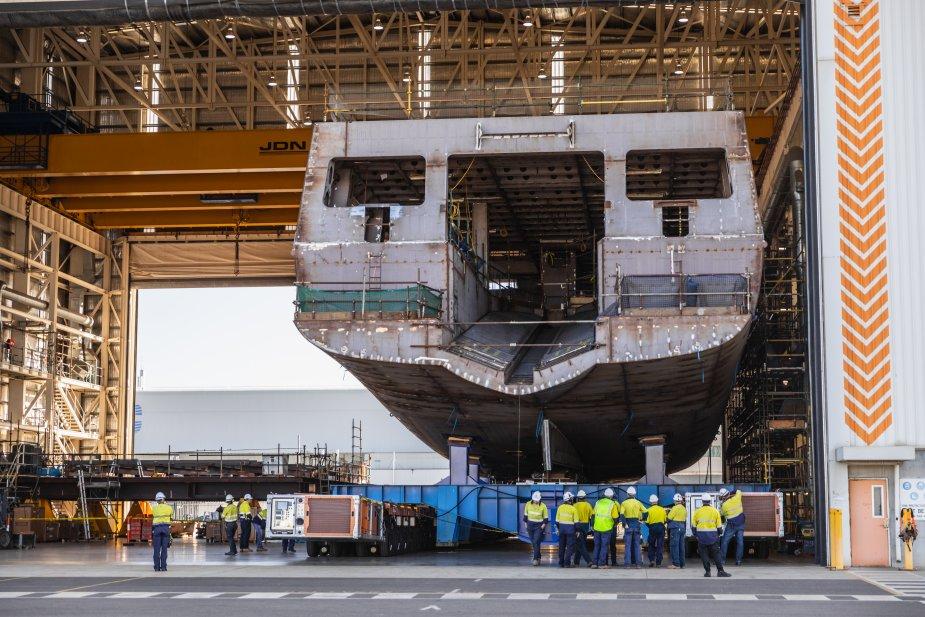 Royal Australian Navy First Offshore Patrol Vessel Arafura