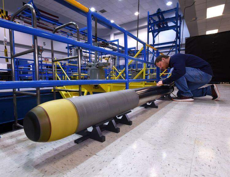 Northrop Grumman Builds Very Lightweight Torpedo (VLWT) for US Navy