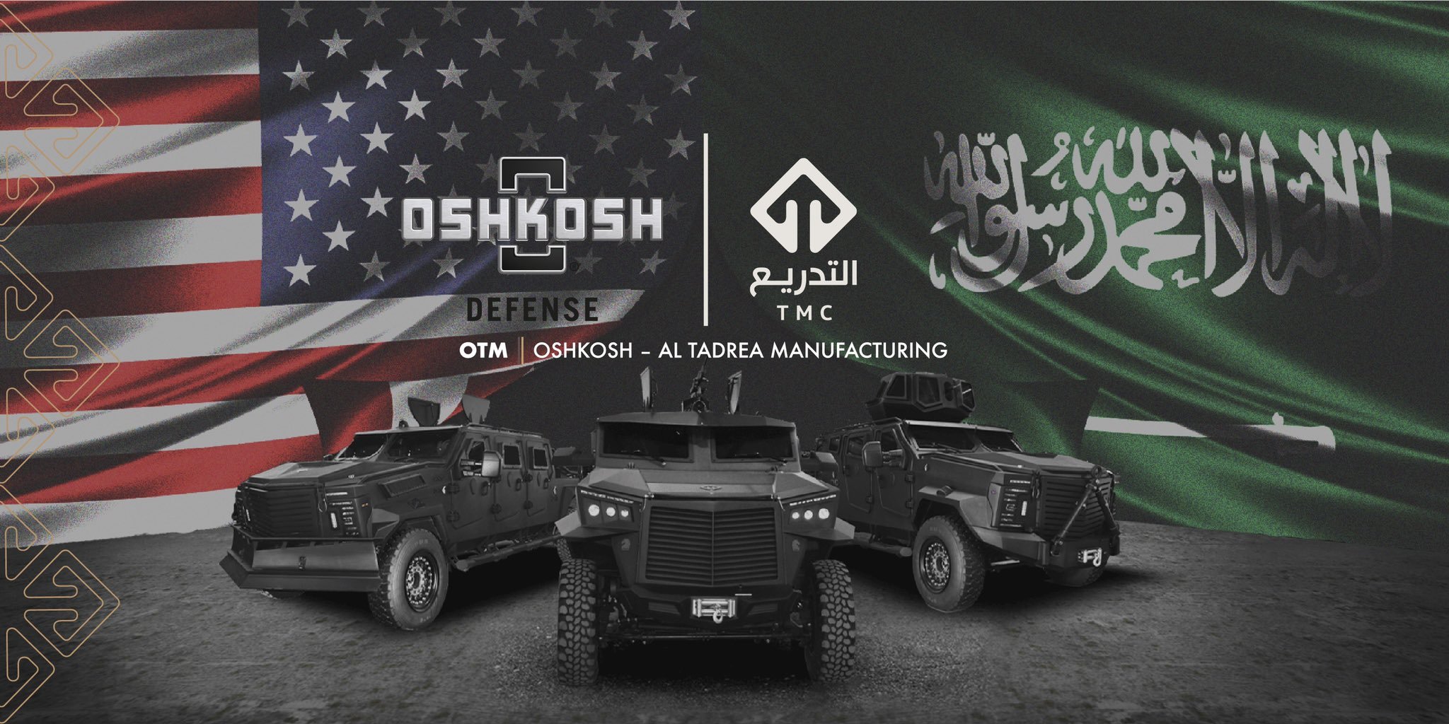 Oshkosh Launches Joint Venture (JV) with Saudi Arabia