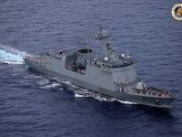 Philippines Navy BRP Jose Rizal Frigate Arrives in Subic Bay