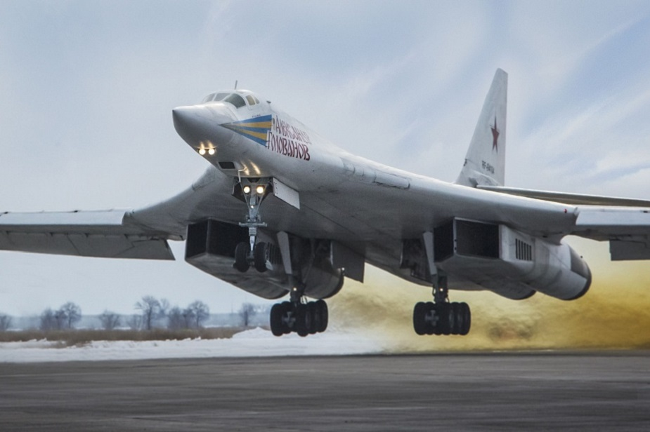 Russian Defense Ministry Receives Two Upgraded Tu-160 White Swan
