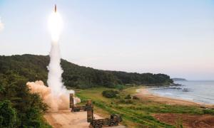 South Korea Tests New Hyunmoo-4 Ballistic Missile