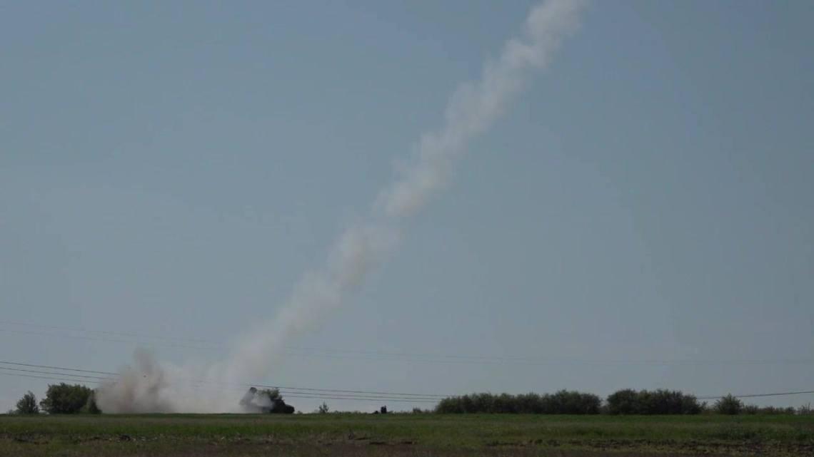Serbian Army Modernized Oganj 122mm Multiple Launch Rocket System