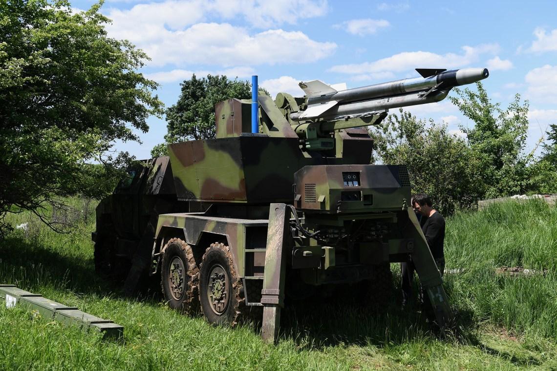 Serbian Army Test Firing RLN-IC FM-2  Short Range Air Defense