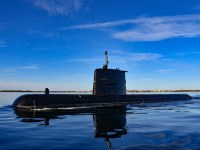 Swedish Navy Receives Modified Submarine HSwMS Gotland