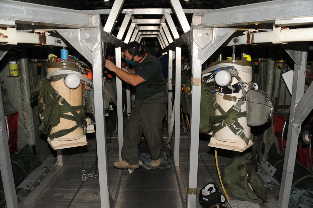 T-11 Parachute Test in Progress at US Army Yuma Proving Ground