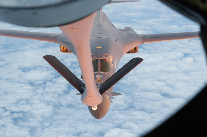 U.S. Air Force B-1s Conduct South China Sea Mission, Demonstrates Global Presence
