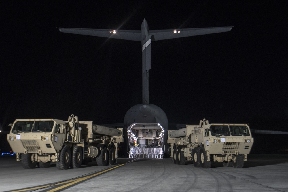 United States Forces Korea Replace Expired THAAD Missiles