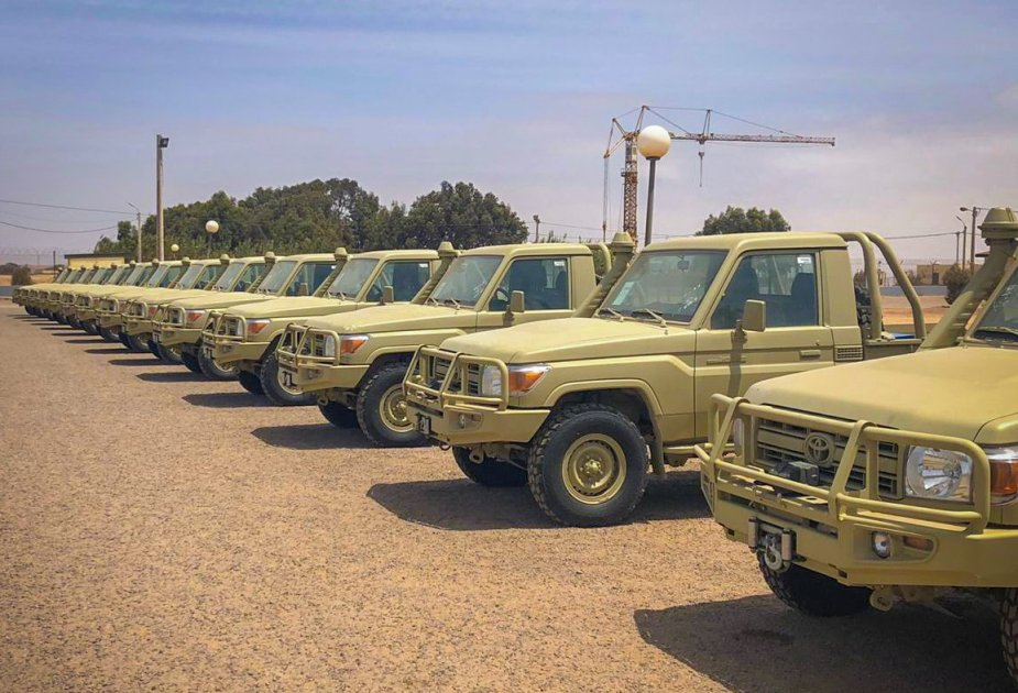 US Africa Command Delivers Vehicles to Moroccan Special Forces
