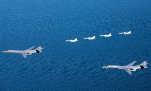 US Air Force B-1B Lancer Bombers Exercise in Sweden