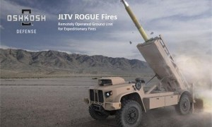 US Marines will Field JLTV ROGUE Fires Vehicle with Naval Strike Missile