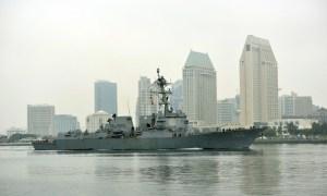 US Navy Transfers 90 Sailors from Quarantine to USS Kidd