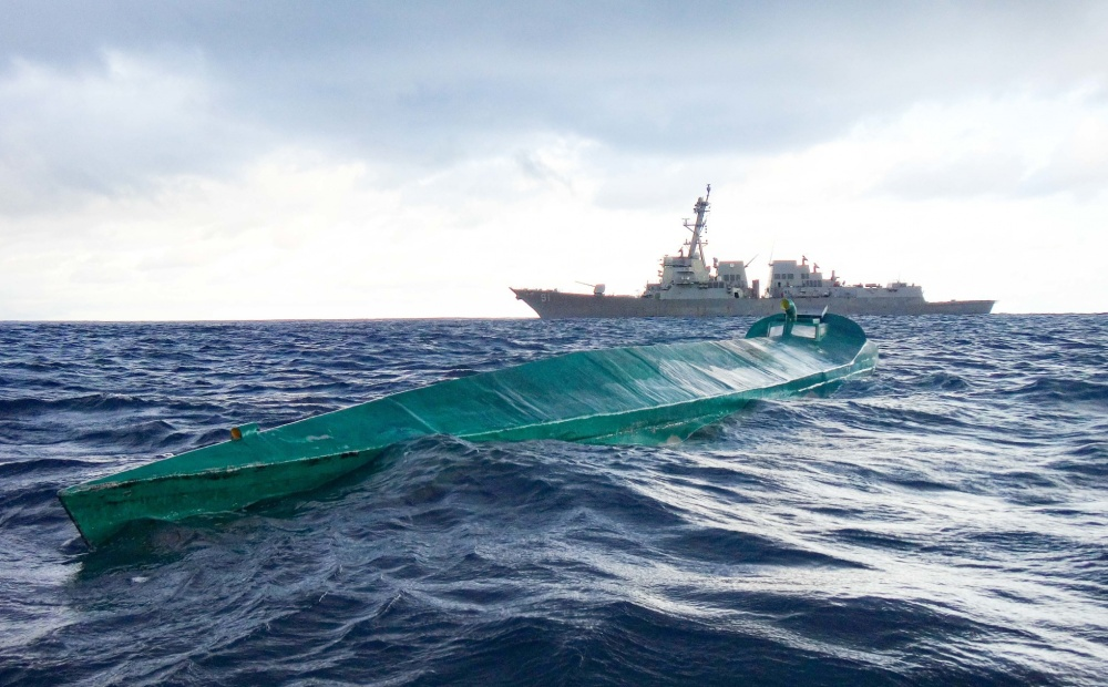 US Navy USS Pinckney Takes Down Drug Vessel and Seizes Over $28 Million of Cocaine