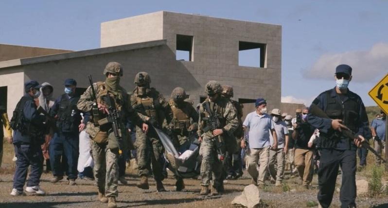 U.S. Marines with 3rd Battalion, 1st Marine Regiment, 1st Marine Division