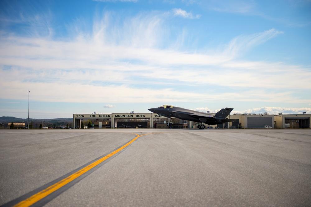 Vermont Air National Guard 134th Fighter Squadron Reach F-35 Milestone