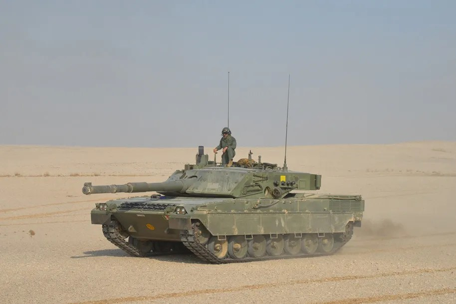 CIO Ariete Main Battle Tank