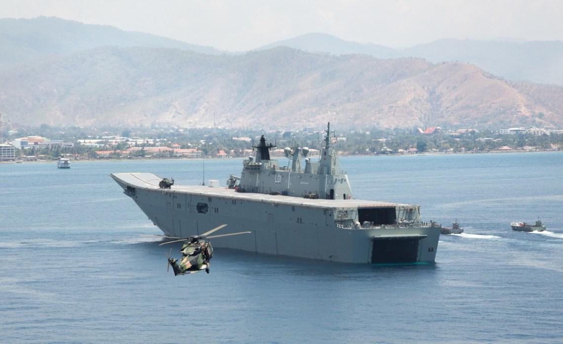 Royal Australian Navy HMAS Adelaide (III) Amphibious Assault Ships