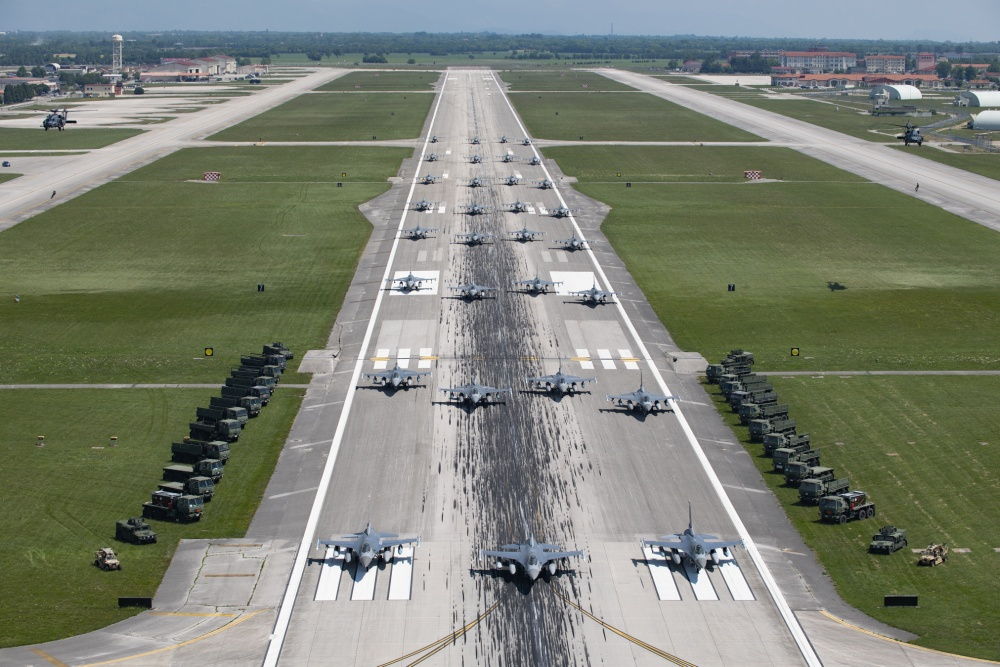 Aviano Air Base Elephant Walk