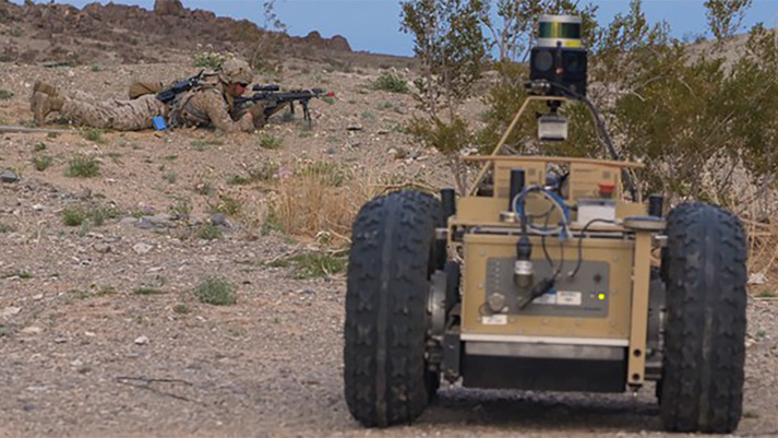 BAE Systems to Provide Autonomy Capabilities for DARPA's Squad X Program